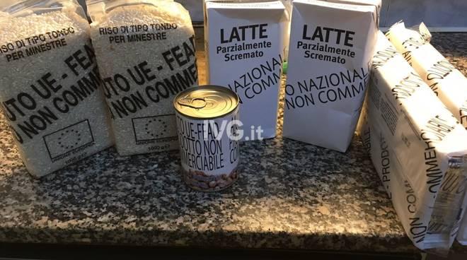 cibo aiuto umanitario
