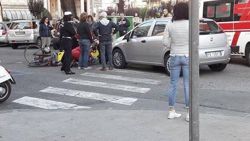 ciclista sestri levante foto lettore