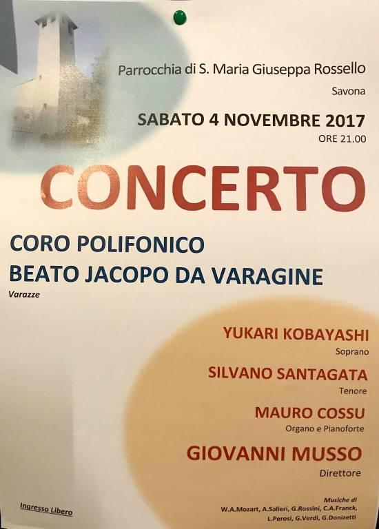 Coro Beato Jacopo da Varagine Chiesa Santa Maria Giuseppa Rossello Savona
