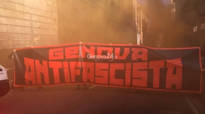 corteo antifascista 14 ott