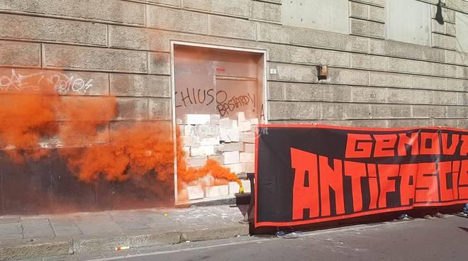 corteo antifascista 7 ottobre