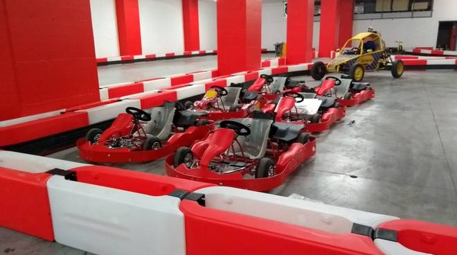 Drift Kart - pista go-kart Albenga