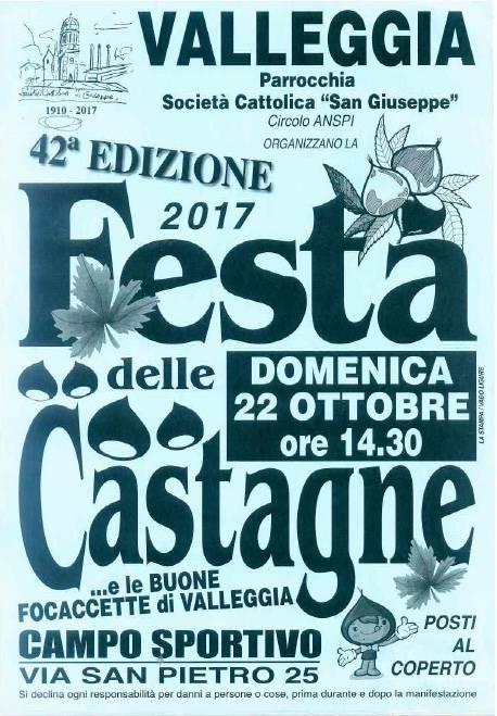 Festa Castagne Valleggia