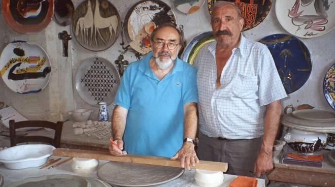 Franco Bruzzone Giovanni Poggi ceramiche