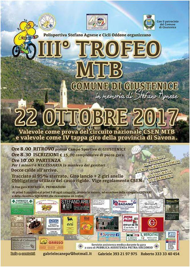 Gara di Mountain Bike Giustenice