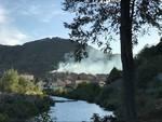 incendio di bosco in località Gaggiasco