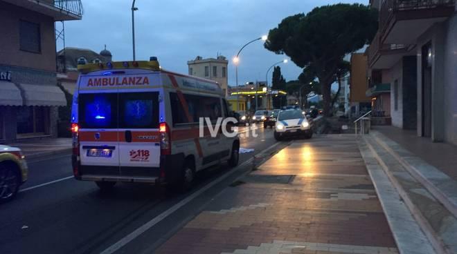 incidente ambulanza loano