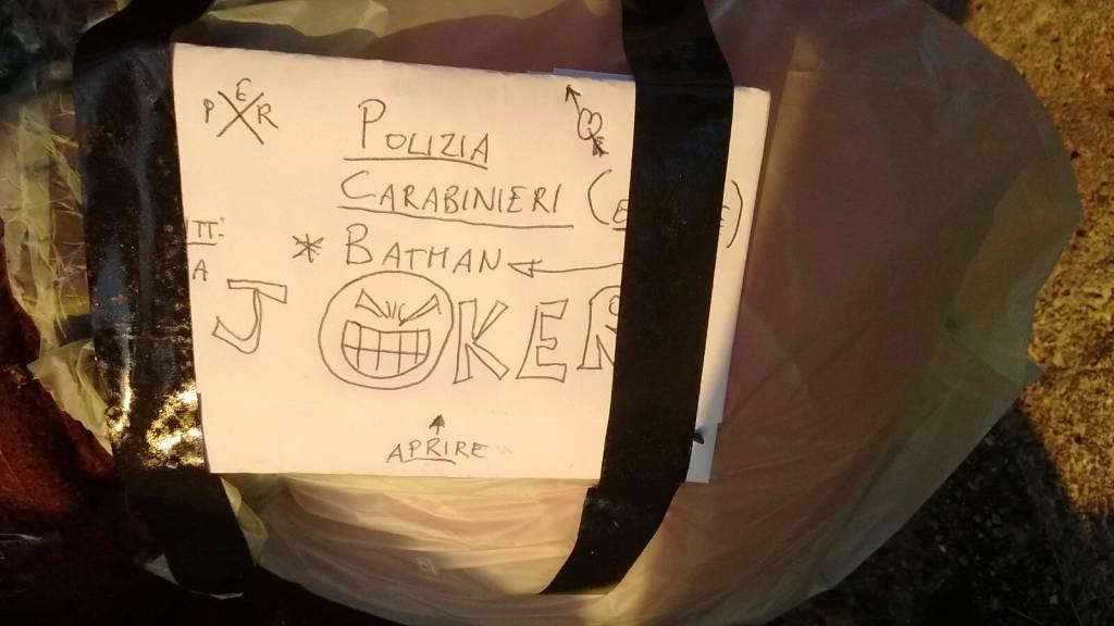 Individuato il Joker di Albenga