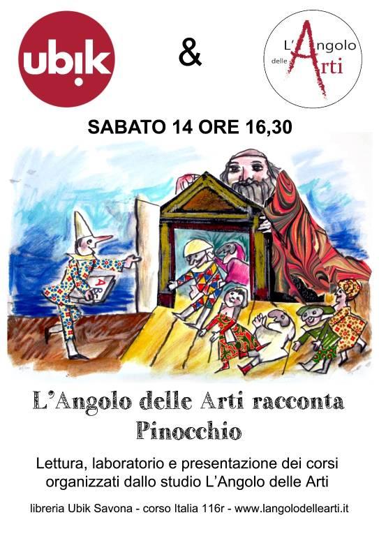 L'Angolo delle Arti racconta Pinocchio