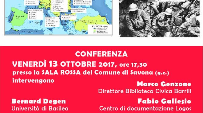 L'opposizione alla guerra conferenza