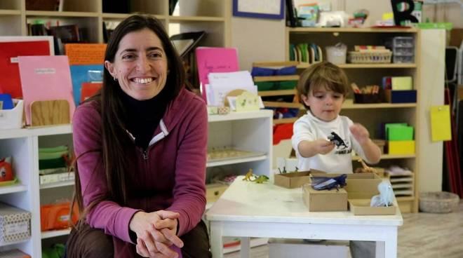 Maestra Francesca D'Achille scuola Montessori