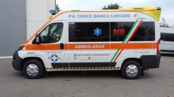 nuova ambulanza carcare