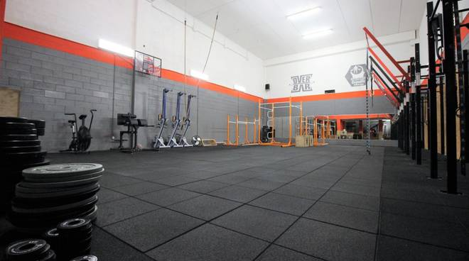 Palestra Crossfit Albenga Open your Mind