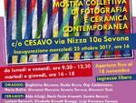 Percorrenze d'arte collettiva fotografia ceramica contemporanea Cesavo Savona