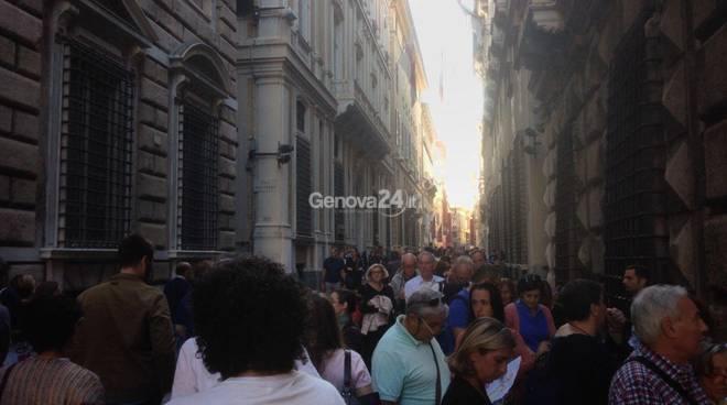 A Genova record di visitatori per i Rolli Days: oltre 120 mila