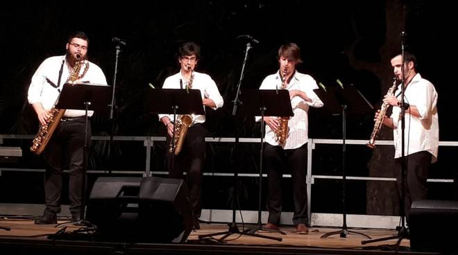 S4X0PH0N3 Quartet sassofoni