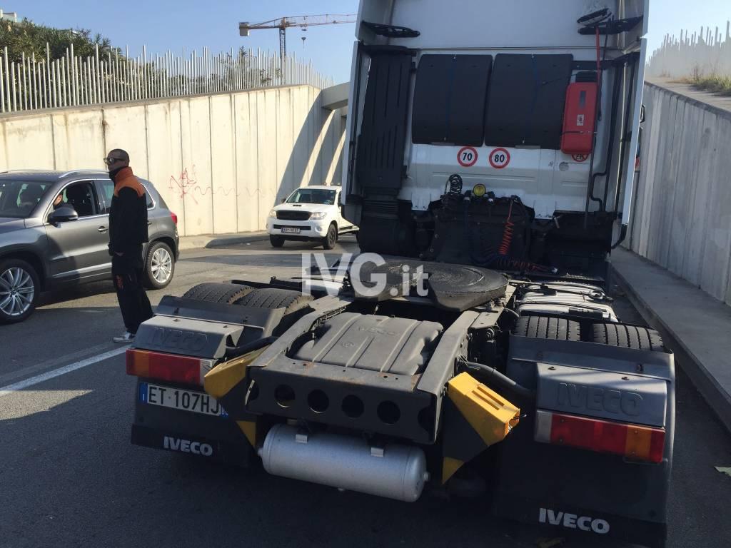 Sciopero camion