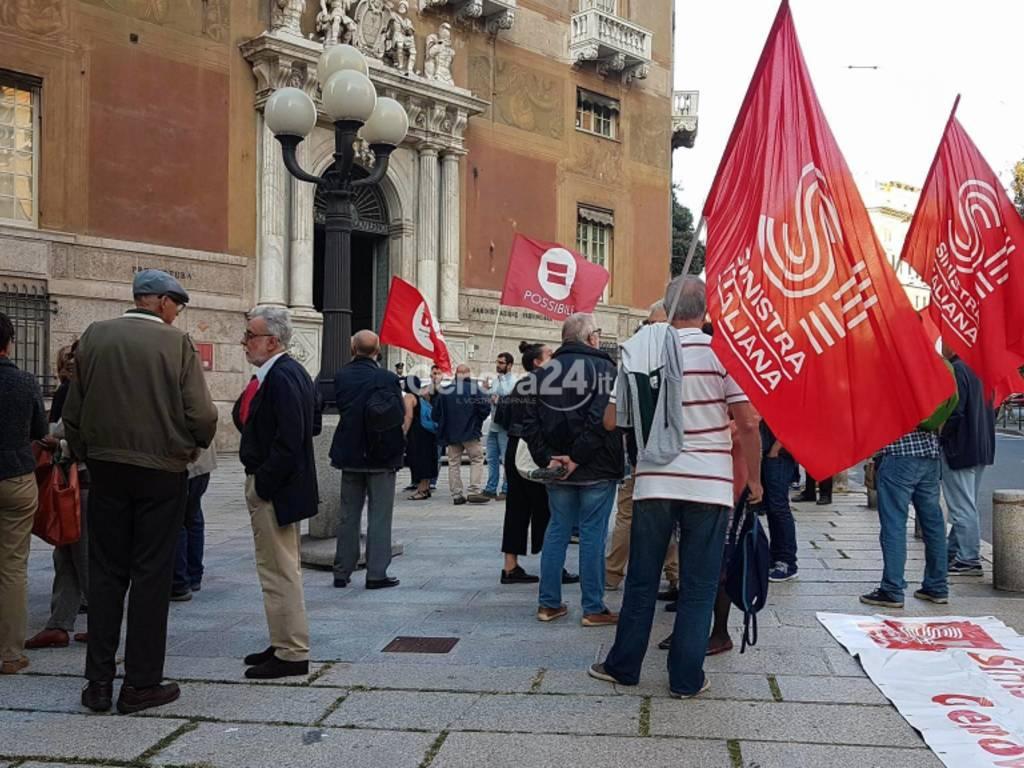 sinistra italiana in piazza