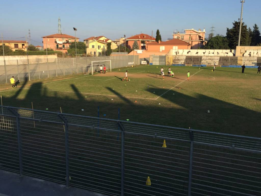 Stadio calcio Albenga