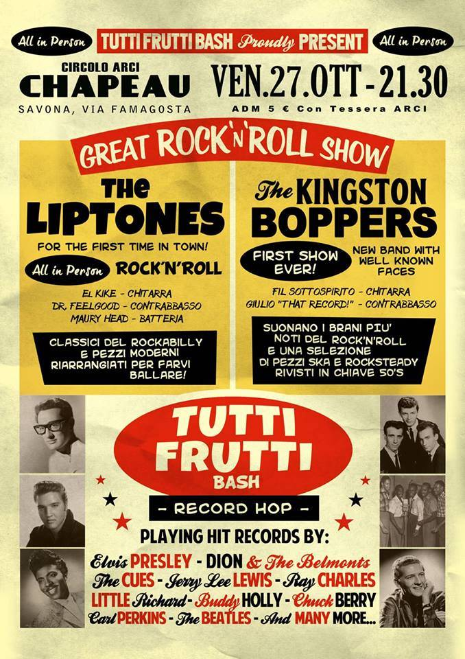 Tutti Frutti Bash - '50s Party & Chapeau