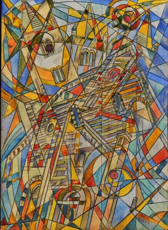 Uberto Bonetti in mostra alla Galleria Vico Spinola