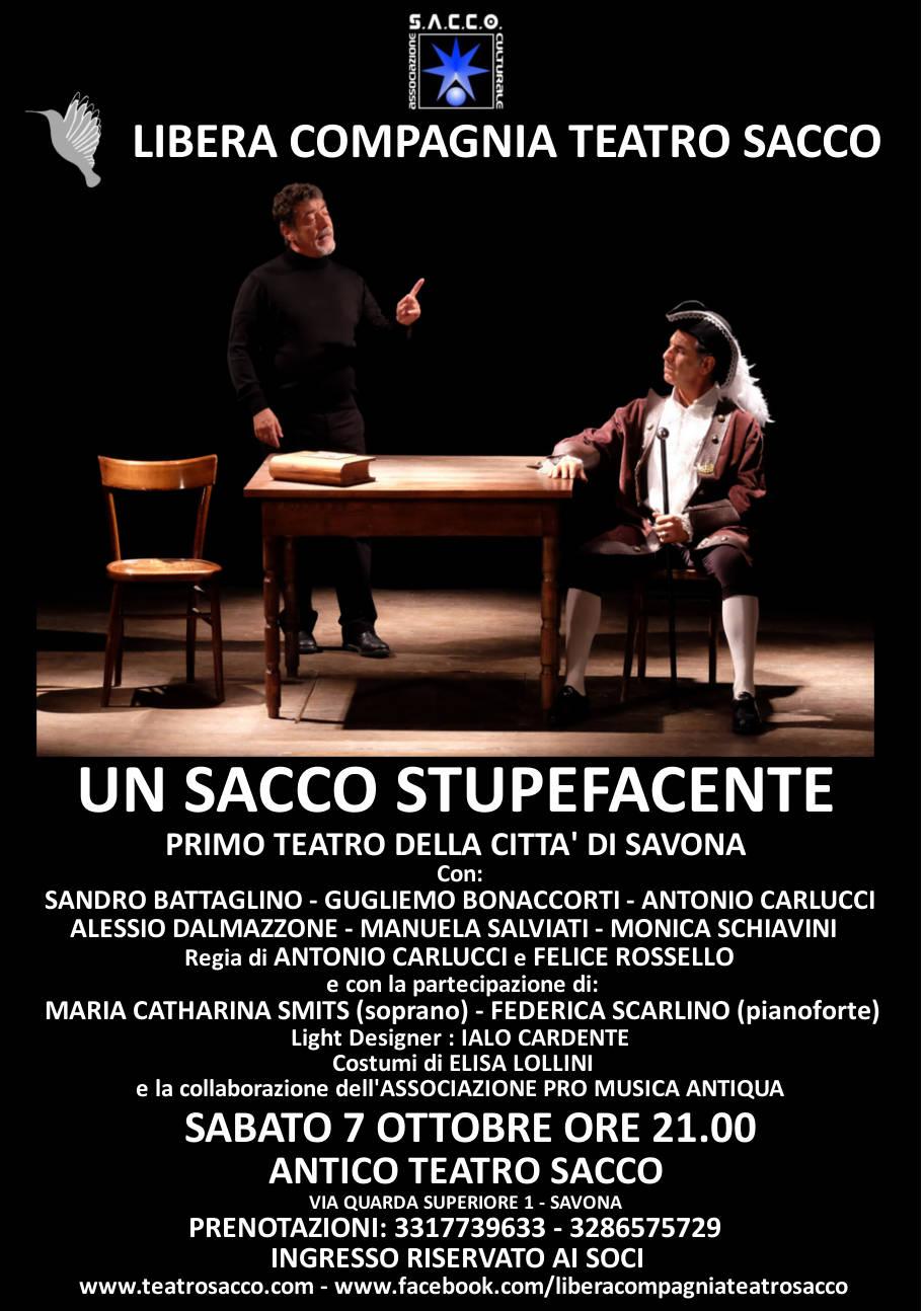 Un Sacco stupefacente Teatro Sacco Savona