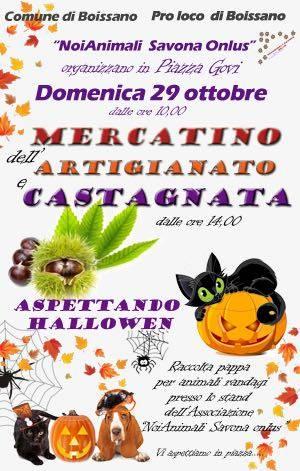 Mercatino Castagnata Boissano