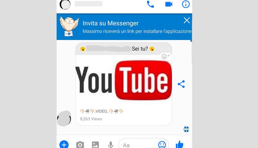 video virus facebook