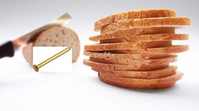 Chiodo nel pane della mensa: panico alla scuola elementare