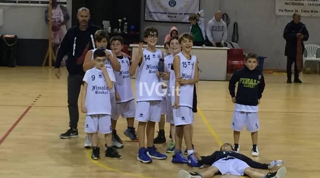 Esordienti: Finale Basket la spunta 43/40 contro il Maremola