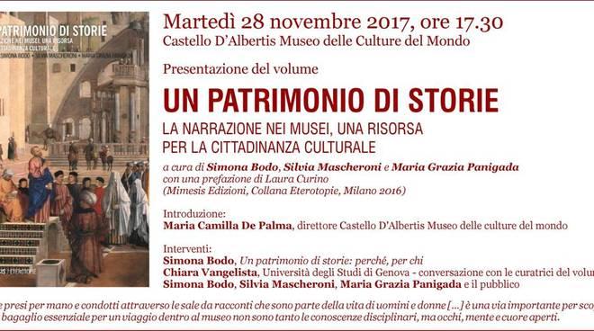 UN PATRIMONIO DI STORIE - La narrazione nei musei, una risorsa per la cittadinanza culturale