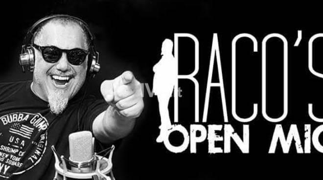 Giovedì sera allo Chapeau Famagosta di Savona: Raco\'s Open Mic