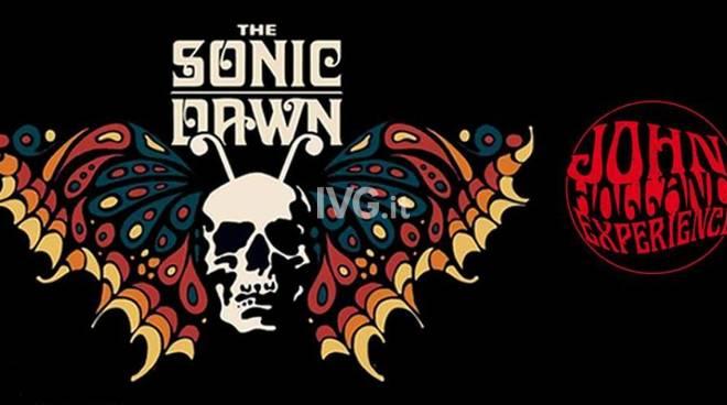 Stasera ai Raindogs di Savona: THE SONIC DAWN + JOHN HOLLAND EXPERIENCE + FREAKCARLOS DJ SET