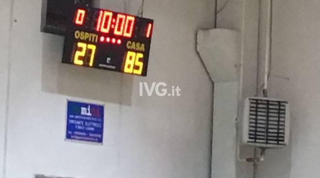 Finale Basket Club batte 85 a 27 Il Vado