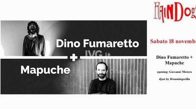 Stasera ai Raindogs di Savona: Dino Fumaretto/Mapuche/Giovanni Mistero/Dreamingorilla DjSet