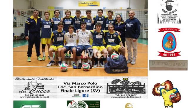 Volley Team Finale: Under 18M in partenza per Trento