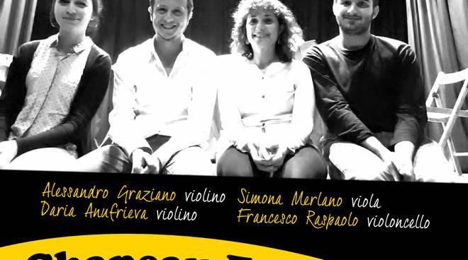 Domenica sera al Circolo ARCI Chapeau Famagosta: aperitivo classico e concerto del Quartetto d\'Archi d\'est