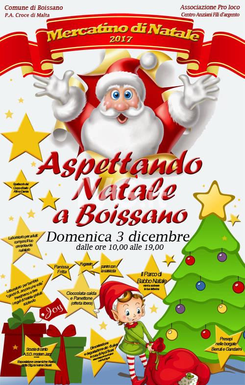 """Mercatino di Natale \""""aspettando Natale a Boissano\"""""""