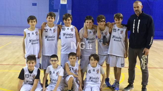 Il Finale Basket Club batte il Cairo 15 a 58