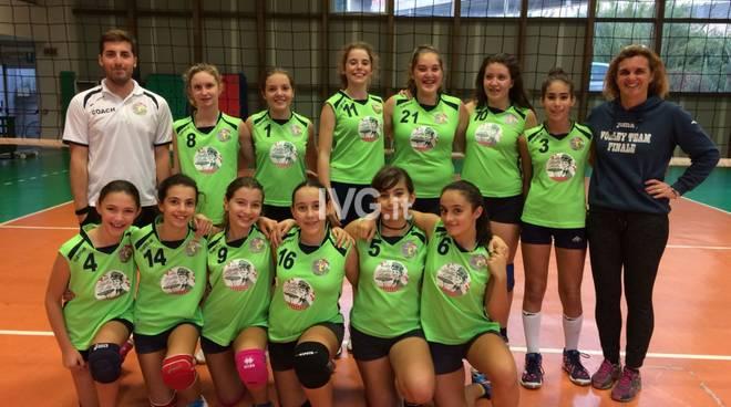 Il Volley Team Finale a pieno regime con diverse partite giocate e l\'esordio vincente dell\'U14F