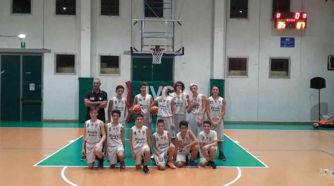 Finale Basket Club, l\'Under 14 batte 65 a 21 il Varazze