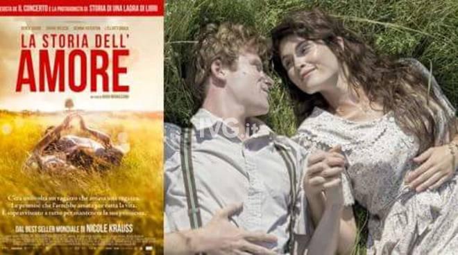 Al NuovoFilmStuidio di Savona: La storia dell\'amore (The History of love)
