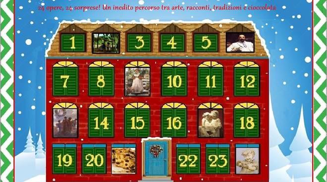 L\' Arte di aspettare il Natale: 24 opere, 24 sorprese! ( visita e degustazione)