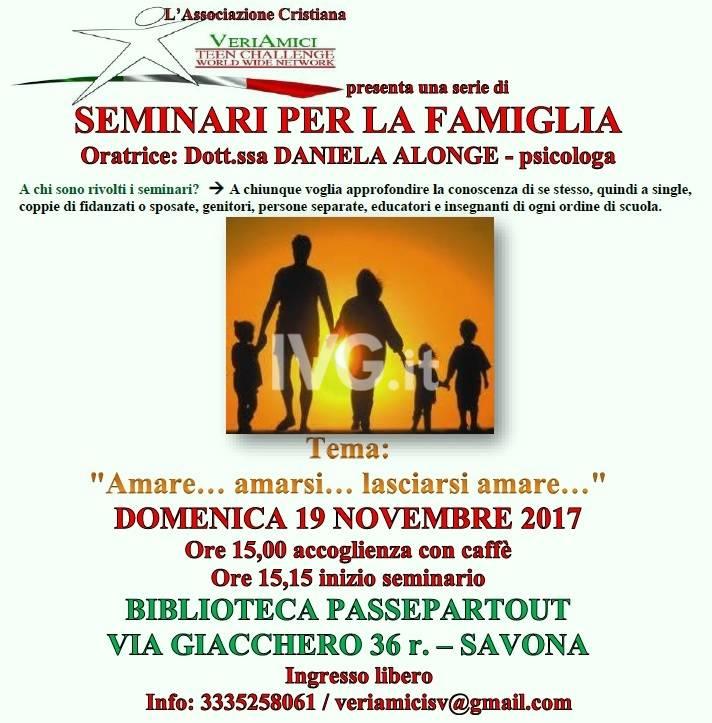 Seminario sulla famiglia
