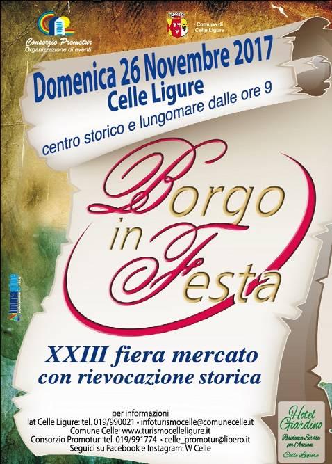 Celle Borgo in Festa locandina 2017
