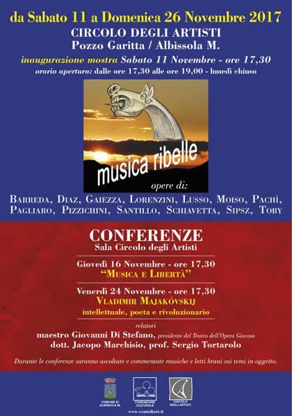Collettiva d'arte Musica Ribelle Pozzo Garitta