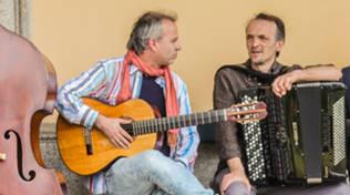 Cristiano Alassio chitarrista Alberto Fantino fisarmonicista