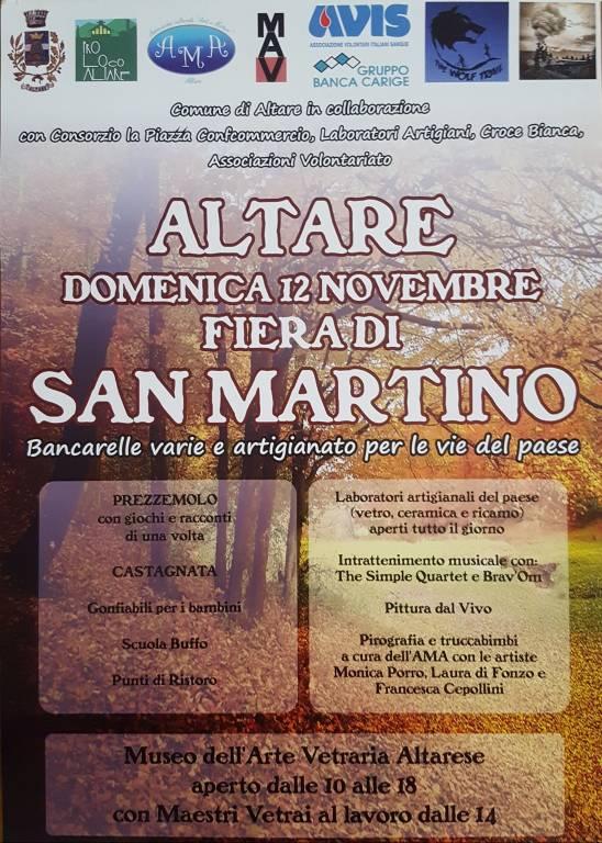 Fiera San Martino Altare