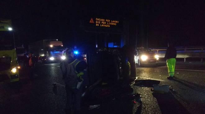 Foto incidente A10 contromano