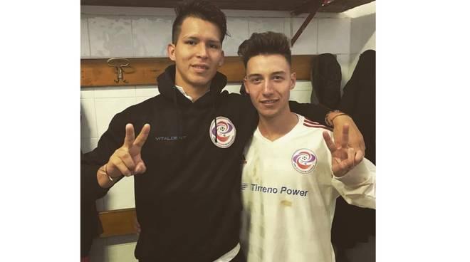 Freccero e Anthony Velez Romero